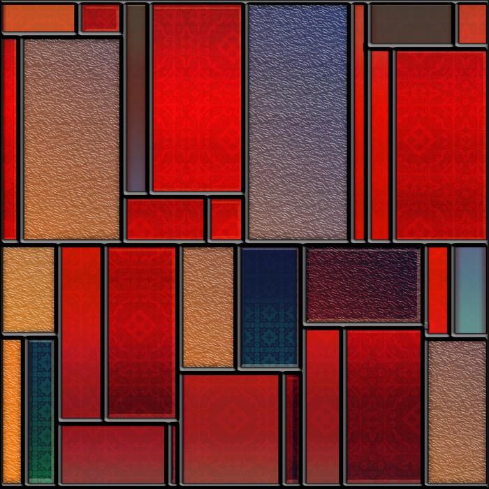 Vinilo Pixerstick Panel de vidrio de color con textura transparente ...