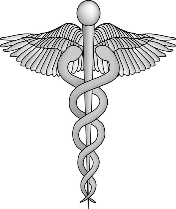 Vinylová Tapeta Lékařské symbol - Zdraví a medicína