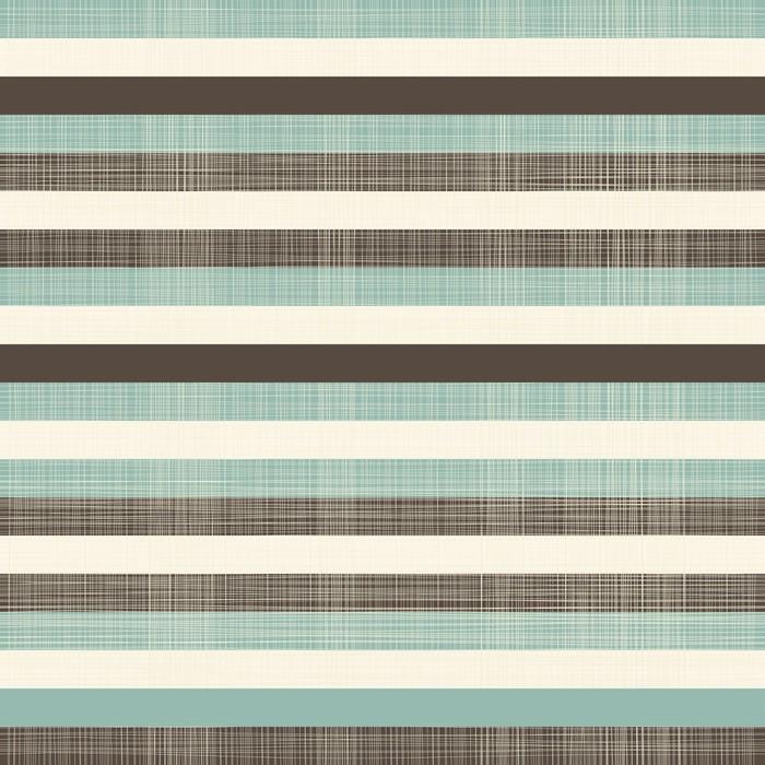 Papier Peint Vinyle Élégantes lignes horizontales rétro sans soudure de fond - Thèmes