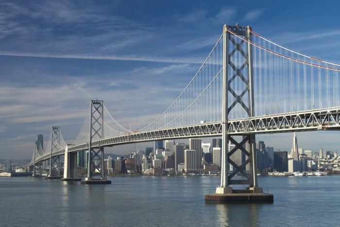 Vinylová Tapeta San Francisco panorama - Amerika
