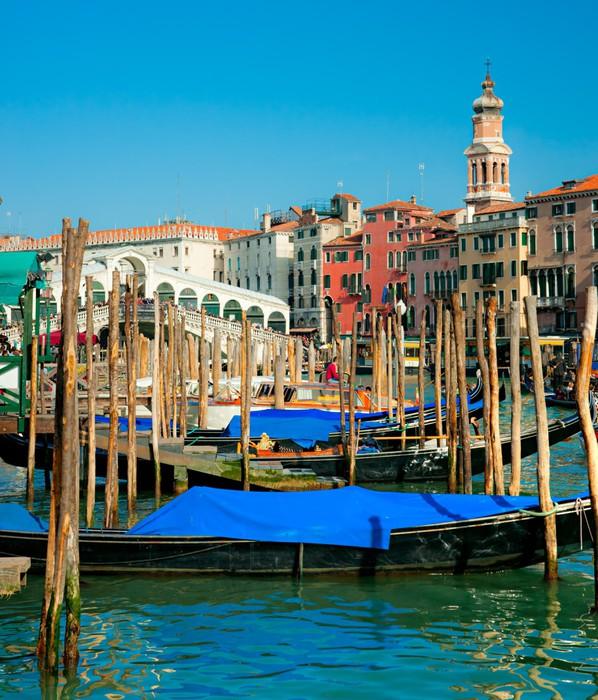 Vinylová Tapeta Rialto most v Benátkách, Itálie - Evropská města