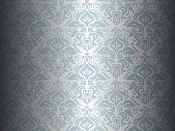 Fototapete silber schwarz tapete hintergrund pixers for Tapete schwarz silber
