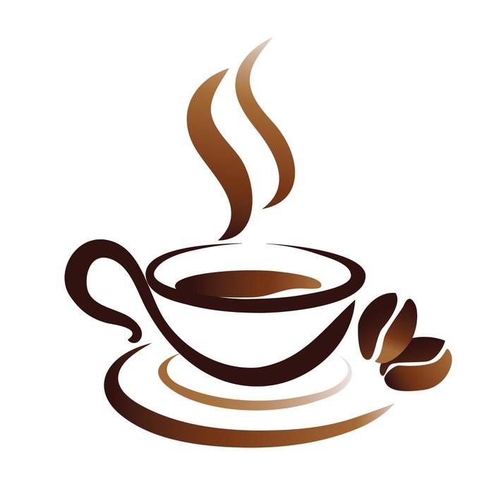 Logo Tasse De Cafe Qui Fume