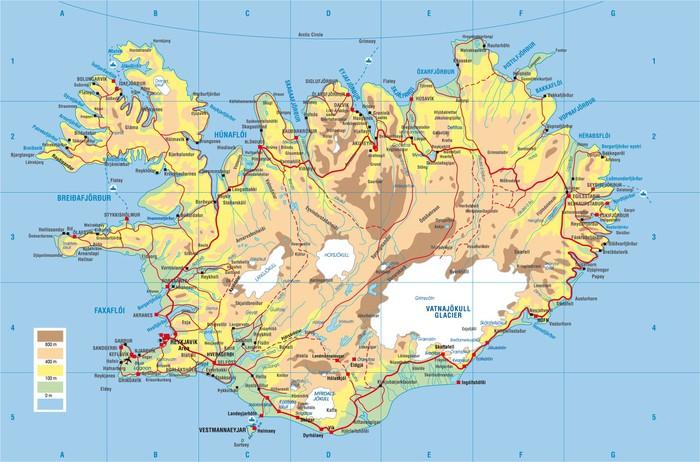 karta island Fototapet Island karta • Pixers®   Vi lever för förändring karta island