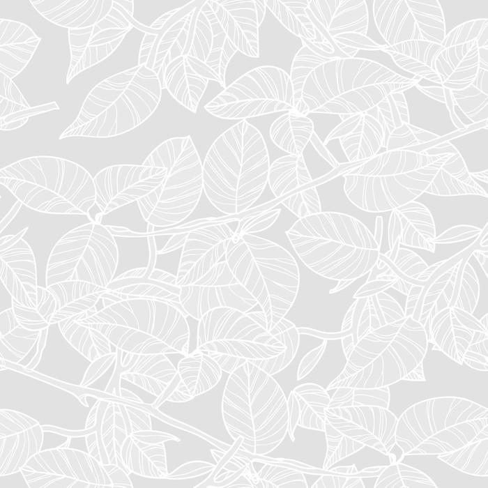 Vinylová Tapeta Světlé listy - Témata