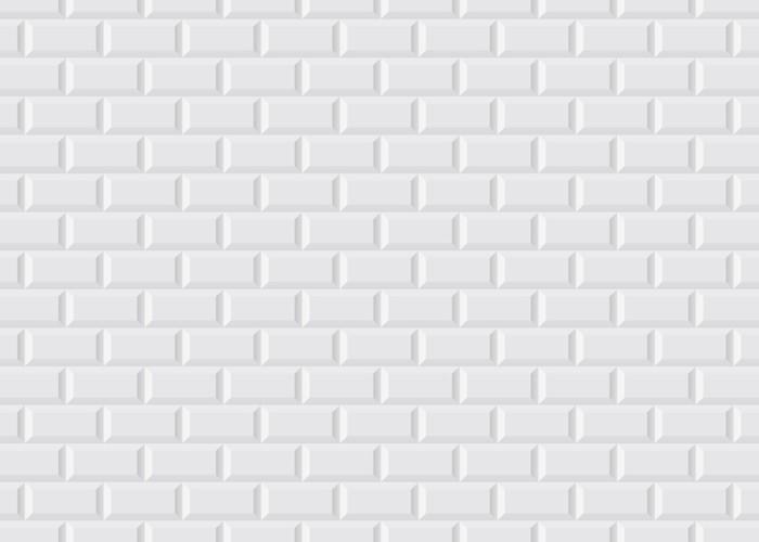 Carrelage blanc metro Wall Mural • Pixers® • We live to change
