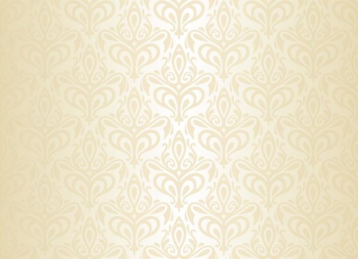 Carta da parati bianco e oro vintage wallpaper pixers for Carta da parati oro e argento