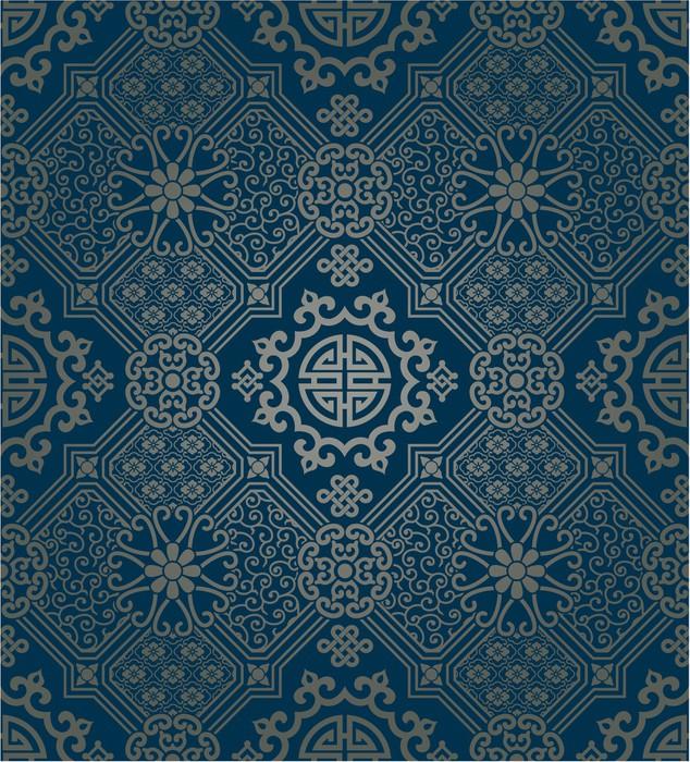papier peint papier peint de style oriental seamless pixers nous vivons pour changer. Black Bedroom Furniture Sets. Home Design Ideas