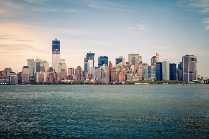 Vinylová Tapeta Manhattan - Americká města