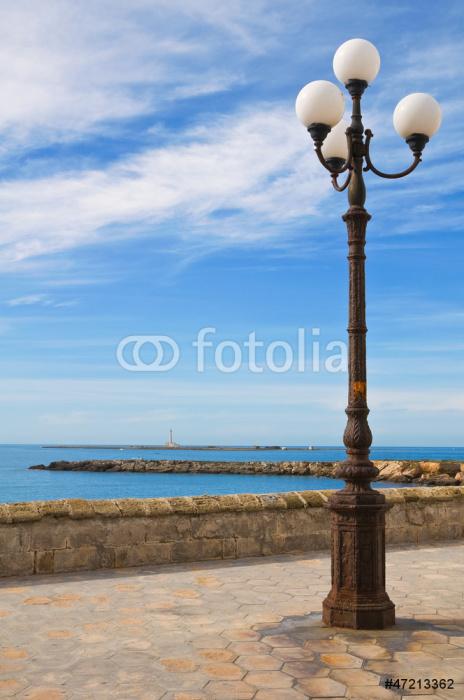 Vinylová Tapeta Panoramatický výhled na Gallipoli. Puglia. Itálie. - Prázdniny