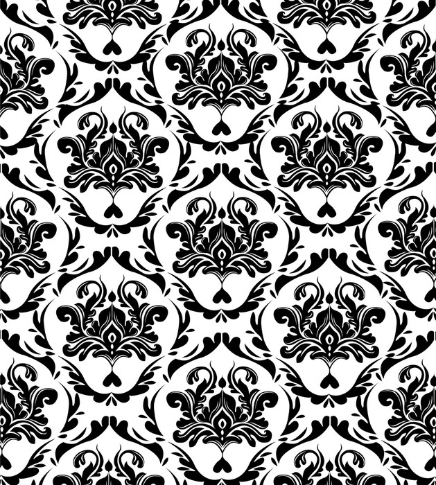 Elegant Seamless Pattern Wall Mural Pixers 174 We Live To