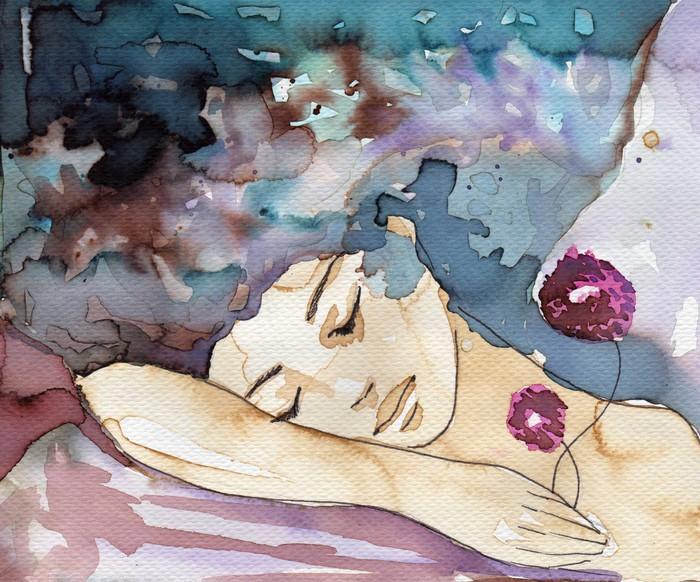 Tableau sur Toile Mesdames et le sommeil - Thèmes