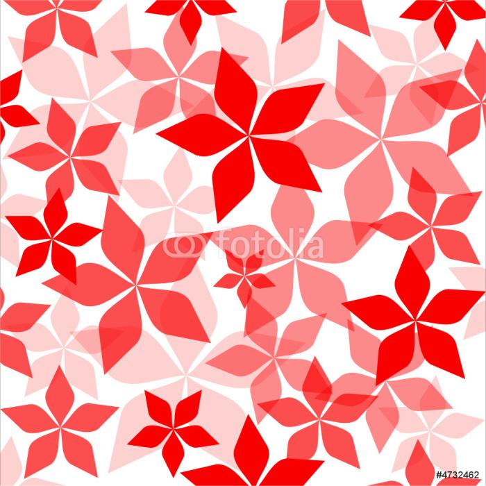 papier peint fleurs rouges sur fond blanc motifs pixers nous vivons pour changer. Black Bedroom Furniture Sets. Home Design Ideas