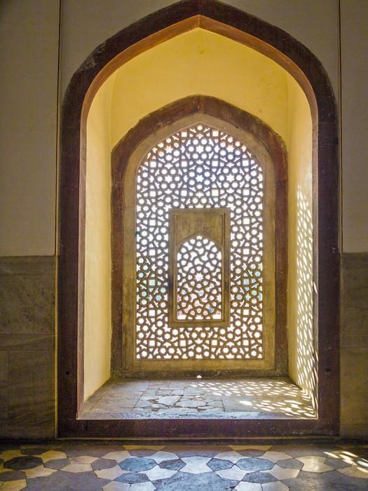 fototapete sch ne fenster mit ornamenten in islamischen stil innerhalb humayun pixers wir. Black Bedroom Furniture Sets. Home Design Ideas