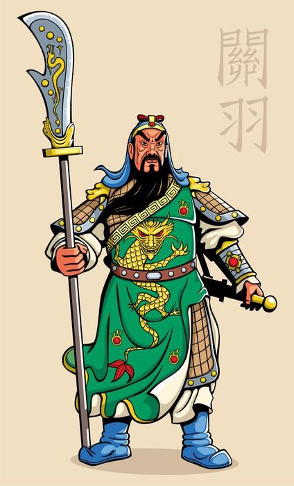 Vinylová Tapeta Čínský bojovník - Úspěch