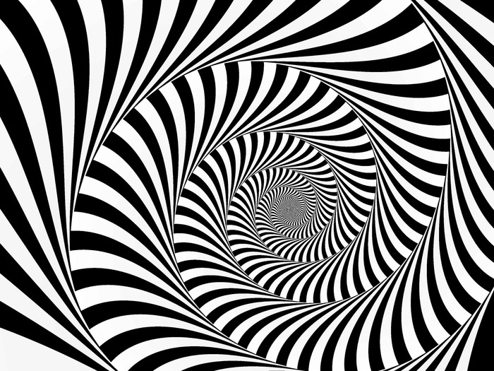 tableau sur toile spiral avent pixers nous vivons pour changer. Black Bedroom Furniture Sets. Home Design Ideas