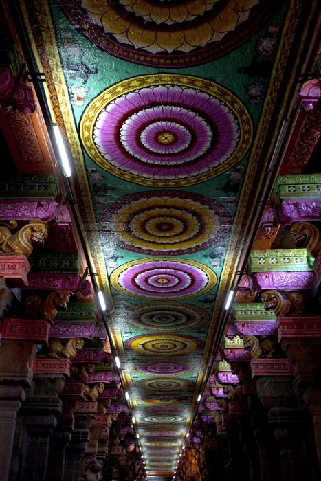 Vinylová Tapeta Sri Meenakshi hinduistický chrám - Asie