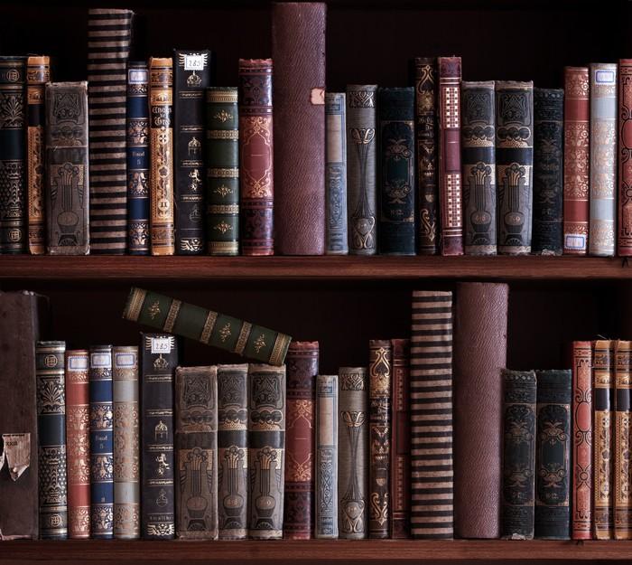Fototapete Bücherregal fototapete antikes bücherregal pixers wir leben um zu verändern