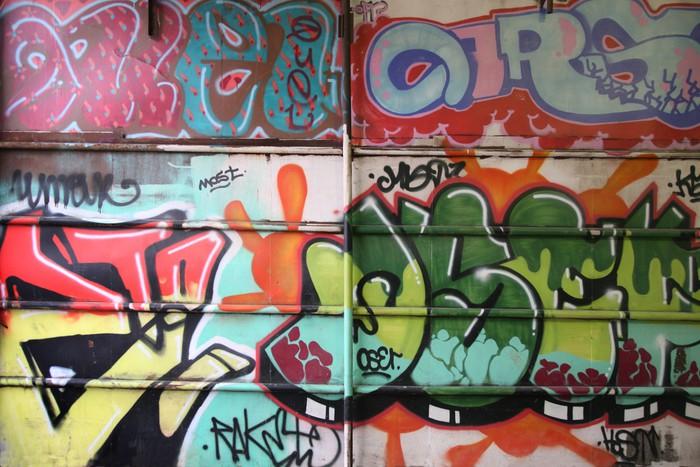 fototapete graffiti wall pixers wir leben um zu ver ndern. Black Bedroom Furniture Sets. Home Design Ideas