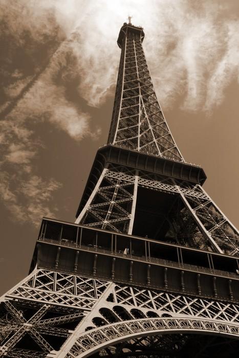 Fotomural La Torre Eiffel, de amplio ángulo de visión • Pixers ...