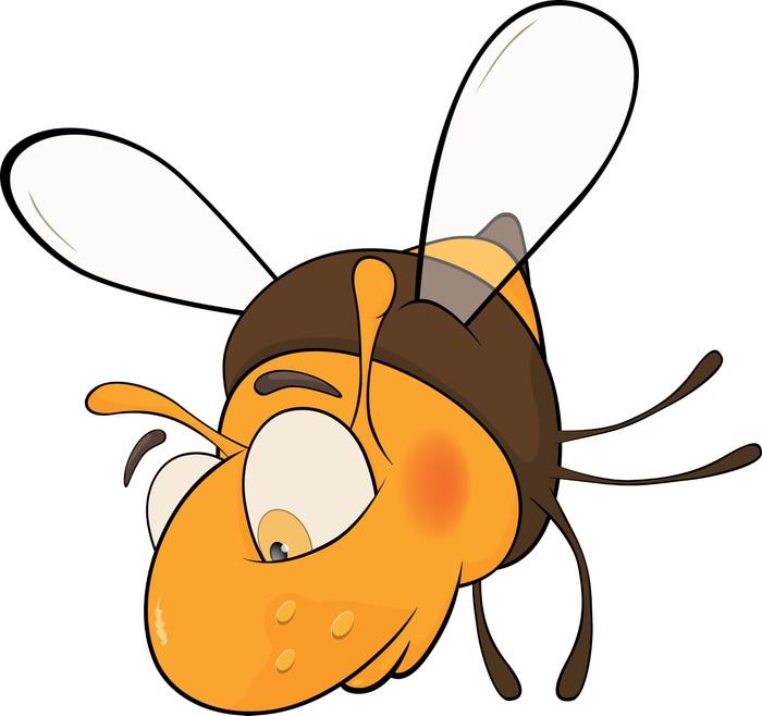 Sad pszczoła. Rysunek