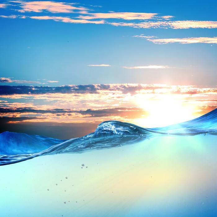 Vinylová Tapeta Západ slunce přímořská krajina - Přírodní krásy