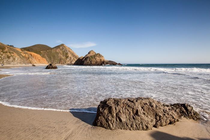 Vinylová Tapeta Klidné pláže v Pfeiffer State Beach - Amerika