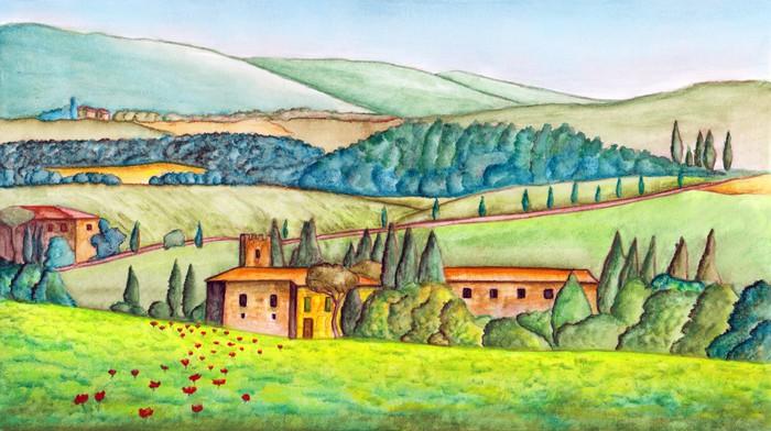 Papel pintado pa s paisaje pixers vivimos para cambiar - Papeles pintados paisajes ...