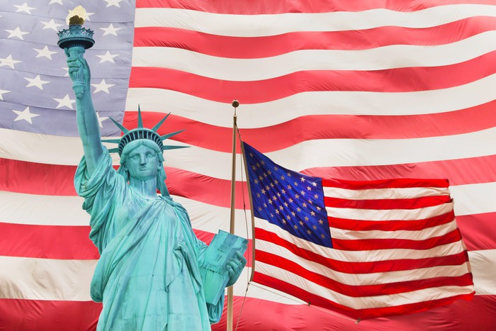 an analysis of the symbol of liberty in united states Statue history engineering frenchman edouard de laboulaye first proposed the idea of a monument for the united states in (and the statue of liberty within.