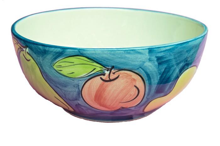 Vinylová Tapeta Navrhovat keramické ovoce luk na bílém pozadí - Struktury