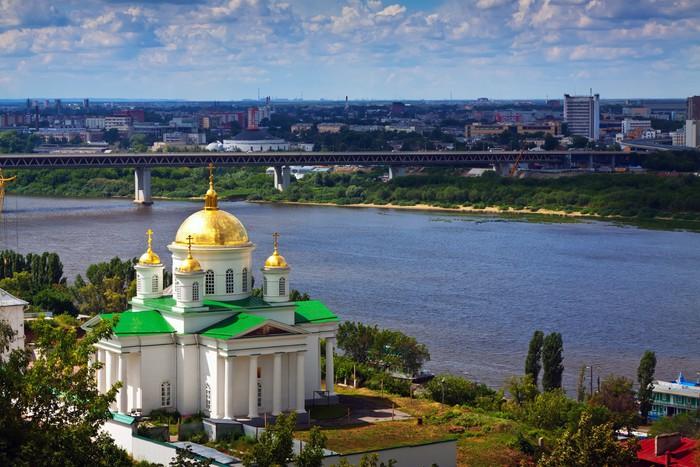 Vinylová Tapeta Historické čtvrti Nižnij Novgorod - Asie