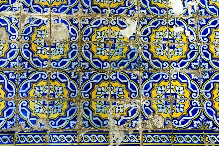 Vinylová fototapeta Azulejo v Porto, Portugalsko - Vinylová fototapeta