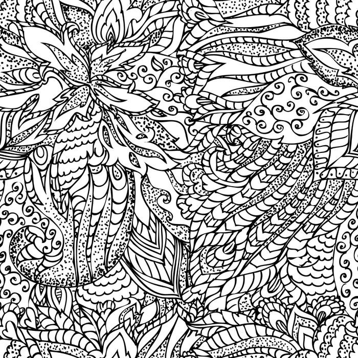 Vinylová Tapeta Abstraktní textury bezešvé - Umění a tvorba