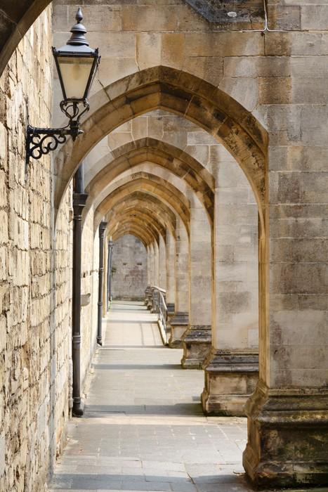 Vinilo pixerstick pasillo antiguo pixers vivimos para for Vinilos pared pasillo