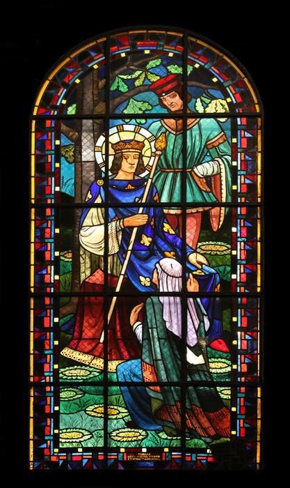 Vinylová Tapeta St Louis IX, Notre Dame de Clignancourt kostel, Paříž, Francie - Náboženství