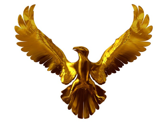 Golden Eagle National Symbol Wall Mural Pixers We Live To Change
