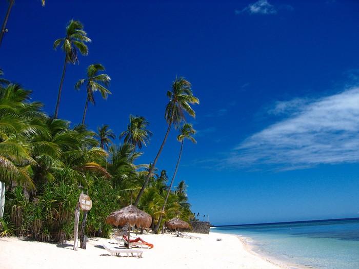 Vinylová Tapeta Tropické pláže ráj - Prázdniny