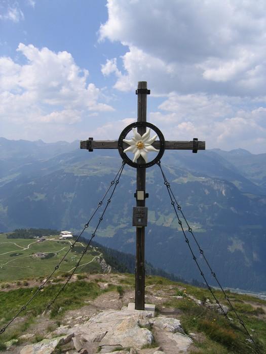Vinylová Tapeta Mayrhofen Bergwelt - Zimní sporty