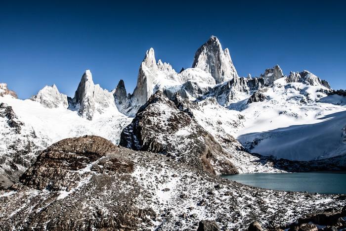 Vinylová Tapeta Mt Fitz Roy v národním parku Los Glaciares, Patagonie, Argentina - Amerika