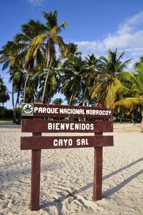 Vinylová Tapeta Vchod do Cay Sal, jeden z ostrovů, které tvoří Nationa - Prázdniny