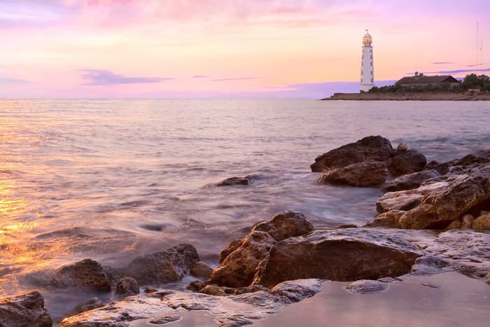 Tapeta Winylowa Latarnia morska - Sporty na świeżym powietrzu