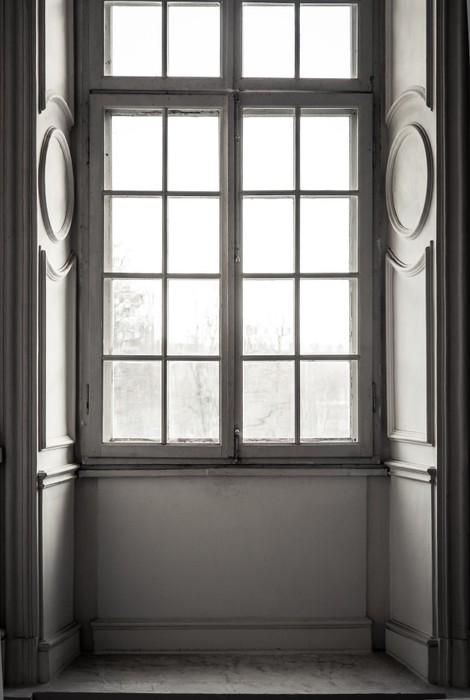poster fen tre cadre blanc pixers nous vivons pour changer. Black Bedroom Furniture Sets. Home Design Ideas