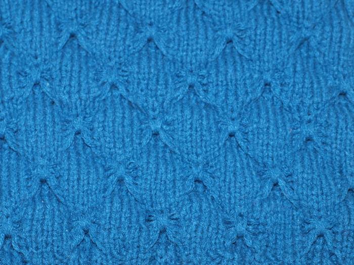 Vinylová fototapeta Vlněná tkanina modré textury na pozadí - Vinylová fototapeta
