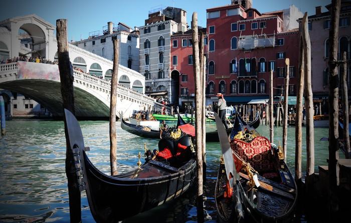 Vinylová Tapeta Gondoly v Benátkách - Evropská města
