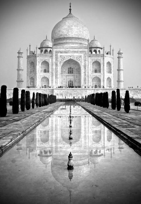 Vinylová Tapeta Taj Mahal, Agra, Uttar Pradesh, Indie. - Asie