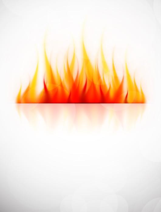 Vinylová fototapeta Souvislosti s ohněm - Vinylová fototapeta