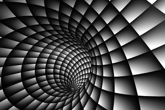 Vinylová Tapeta 3D Abstraktní spirála - Témata