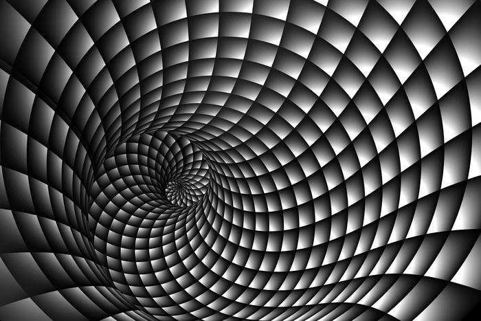 Vinylová Fototapeta 3D Abstraktní spirála - Vinylová Fototapeta