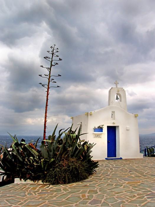 Vinylová Tapeta Řecký ortodoxní kostel v Rafina - Řecko - Náboženství