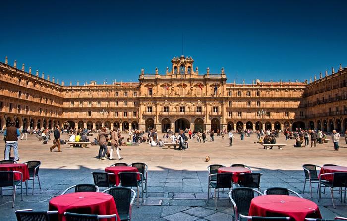 Vinylová Tapeta Plaza Mayor Salamanca, Španělsko - Témata